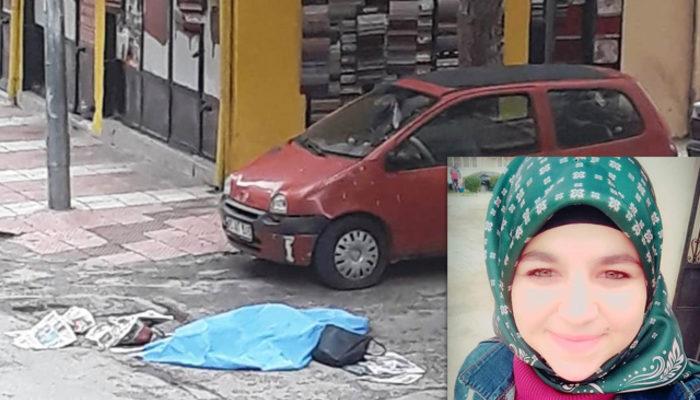 span style=color:unsetManisada dehşet! Genç kadın sokak.../span