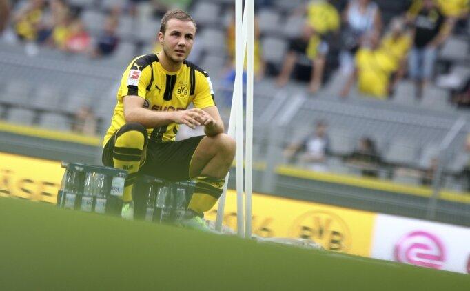 Mario Götze, Dortmund#039;dan ayrılıyor
