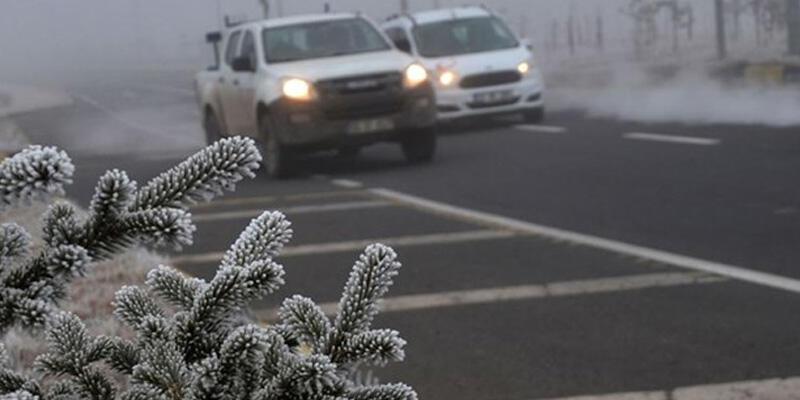 Marmara için buzlanma ve don uyarısı