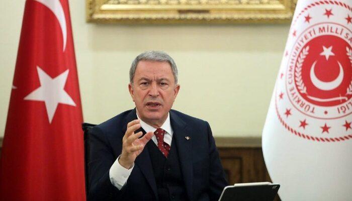 Milli Savunma Bakanı Hulusi Akar'dan Yunanistan'a çok sert Doğu Akdeniz mesajı
