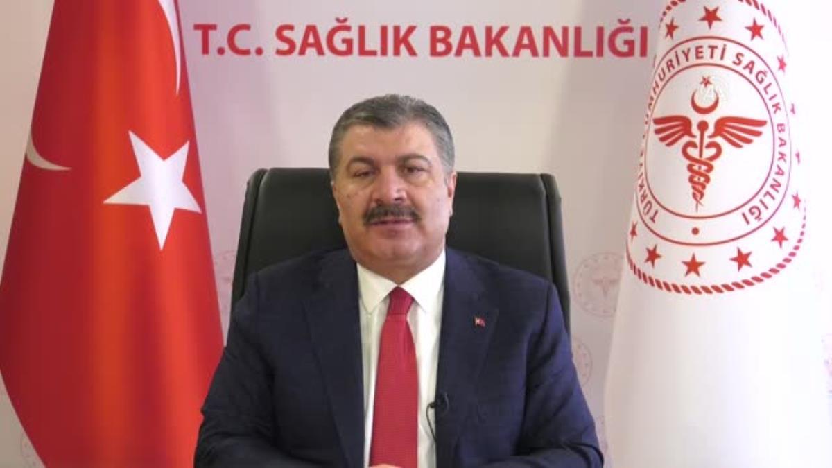Sağlık Bakanı Fahrettin Koca 14 Mart Tıp Bayramı Töreni'nde konuştu