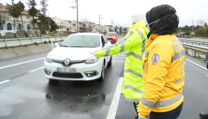 Silivri'de denetimler devam ediyor! İstanbul'a giriş-çıkışa izin verilmiyor