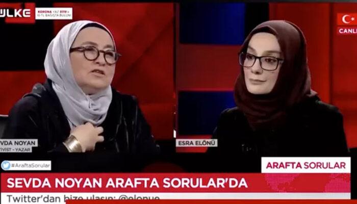 Televizyon programında, 'Ayaklarını denk alsınlar, benim listem hazır' diyen Sevda Noyan'ın davası başladı