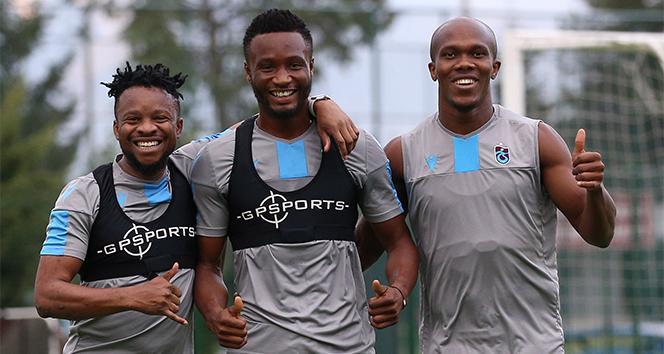 Trabzonsporda mutlu Nijeryalılar