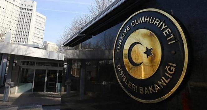 Türkiye'den, ABD'de kabul edilen yasa tasarısı hakkında açıklama