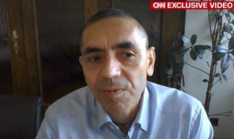 Uğur Şahin CNN'e konuştu
