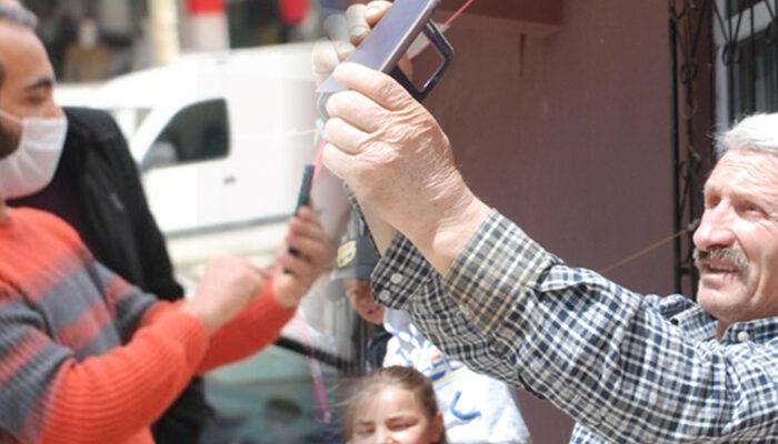 Tokat'ta görülen 'güneş halesi' ilgi çekti! Gören cep telefonuna sarıldı