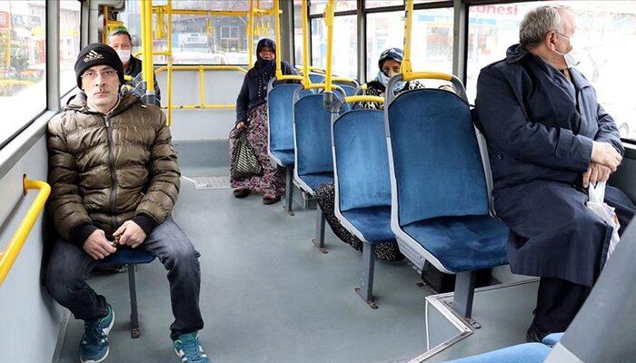 Toplu taşımada koronavirüs önlemleri! Polis otobüsleri tek tek durdurdu