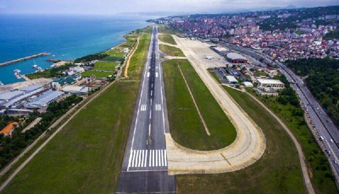 Trabzon Havalimanı bir ay uçuşa kapatıldı