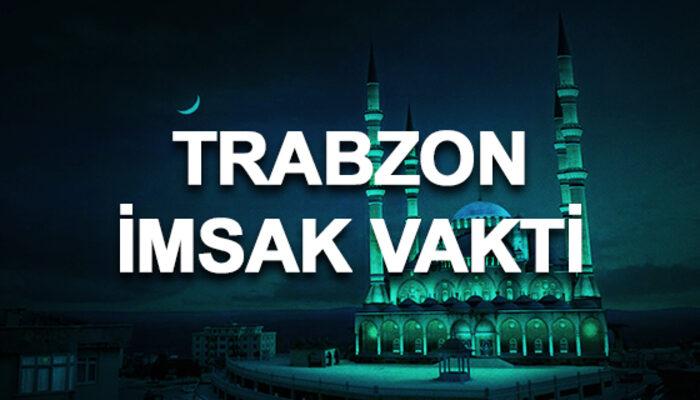 Trabzon imsakiyesi 2020: Trabzon sahur saati ve imsak vakti kaçta?
