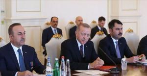 Cumhurbaşkanı Erdoğan'dan Türkiye-Azerbaycan Ticaret Hedefine Yönelik Açıklama