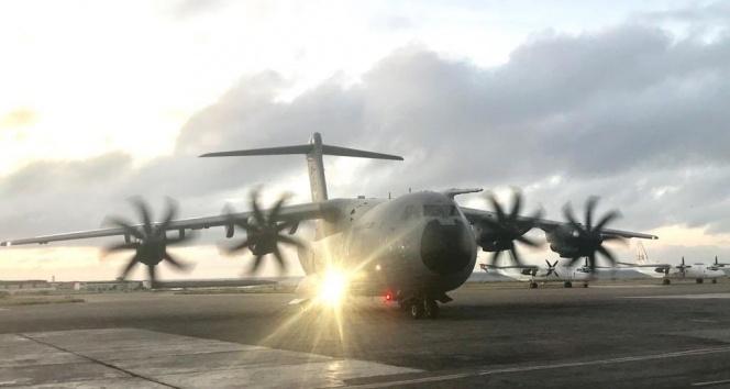 Türk yardım uçağı Somali'ye ulaştı