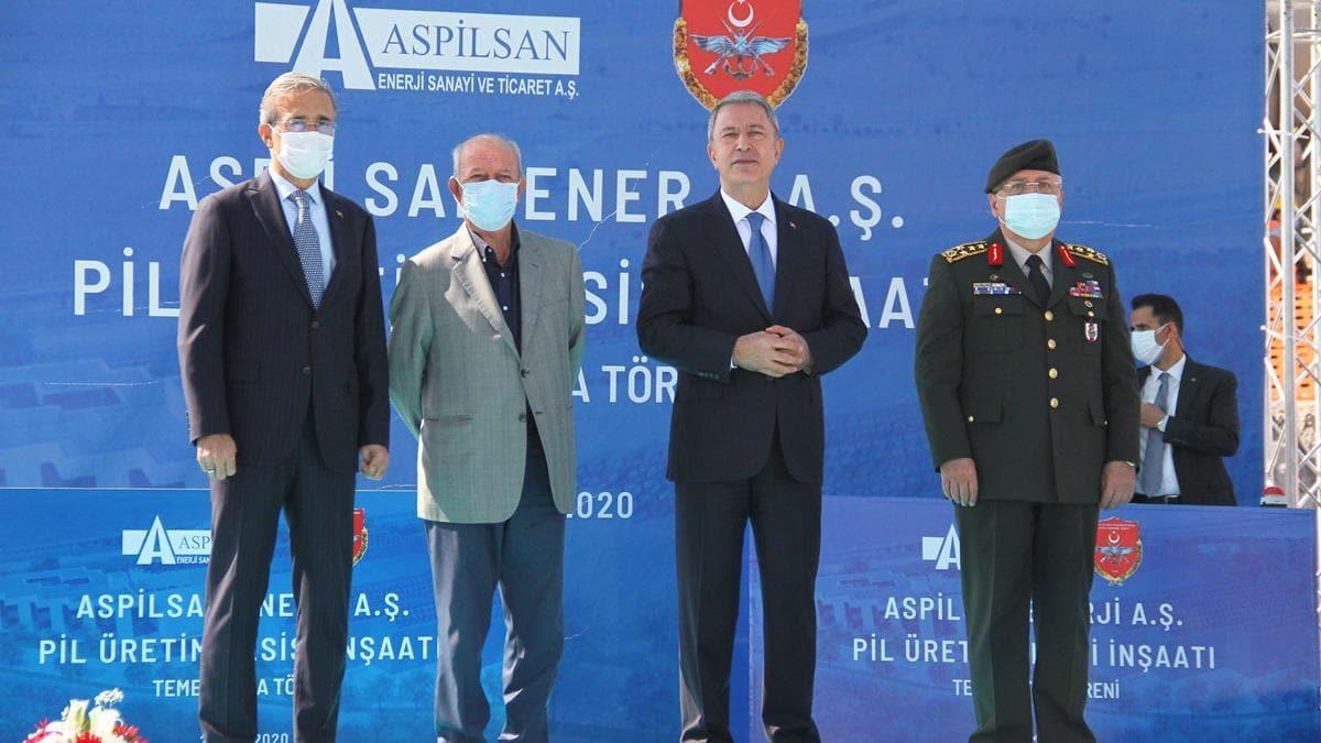 Türkiye'nin ilk lityum iyon pil üretim tesisinin temeli Kayseri'de atıldı