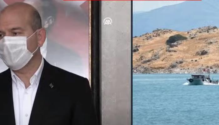 Van Gölü'ndeki tekne faciası! Bakan Soylu'dan son dakika açıklaması