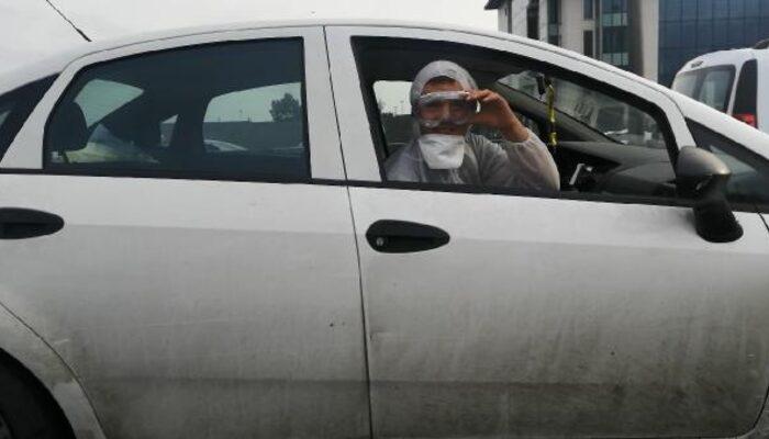Yer: İstanbul! Trafikte şaşırtan görüntü