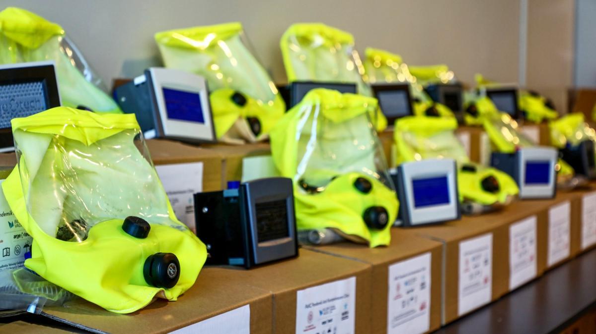 Yerli imkanlarla geliştirilen Pak-C yüzde 95 filtrasyonla kuvöz havası koruması sağlayacak