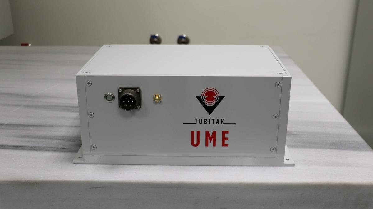 Yerli ve milli olarak üretildi: TÜBİTAK'tan konumlama uyduları için atomik saat
