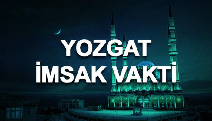 Yozgat imsakiyesi 2020: Yozgat sahur saati ve imsak vakti kaçta?