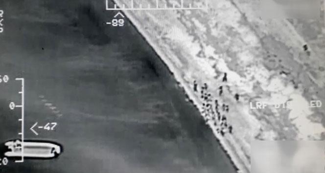 Yunanistan'a kaçmaya çalışan 19 Suriyeli yakalandı