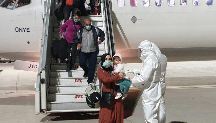 Yurt dışından 133 Türk vatandaşı daha Türkiye'ye getirildi