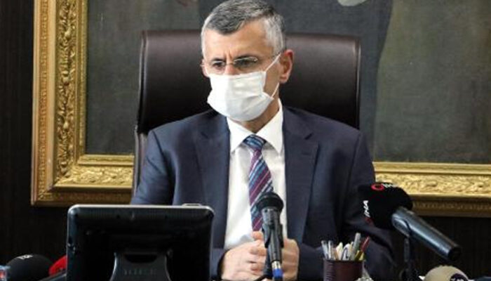 Zonguldak Valisi Erdoğan Bektaş sağlık çalışanlarından özür diledi